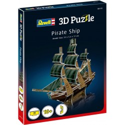 """Puzzle 3D Revell Pirate Ship """" Nave Pirata """""""