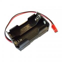 Portabatterie 4 stilo AA cavetto spinetta BEC Ricevente