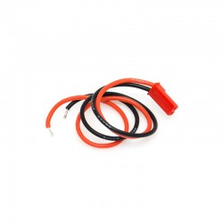 Connettore BEC  con cavetto in silicone  2 pin JST BEC femmina