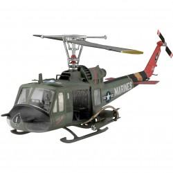 """Revell 04476 UH-1 """" HUEY HOG """" elicottero KIT 1:48"""