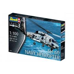 Revell 04955 SH-60 NAVY HELICOPTER elicottero KIT 1:100