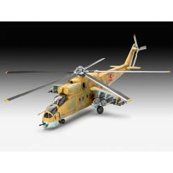 Revell 04951 MIL MI-24D HIND elicottero KIT 1:100
