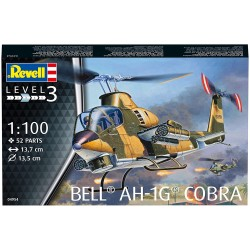 Revell 04985 AH-64A APACHE HELICOPTER elicottero KIT 1:100