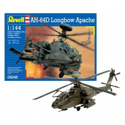 Revell 04046 AH-64D Longbow Apache HELICOPTER elicottero KIT 1:144