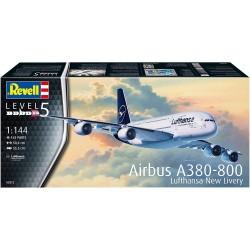 Airbus A380-800 Lufthansa 1:144 Aeromodello in kit Revell 03872