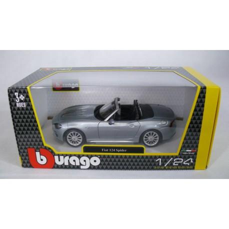 Burago 1/24 Fiat 124 Spider rossa