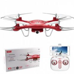 SYMA X5WD-720P R/c quadcopter fpv real -time 4ch bring 6 axis gyro