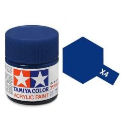 TAMIYA 81503 Mini x-3 royal blue Acrilico