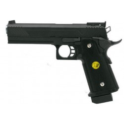 Pistola HI-CAPA 5.1 GAS WE da Softair - Pallini Gas Metal 45 ACP Ceramica