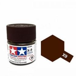 TAMIYA 81509 Marrone x-9 brown Acrilico