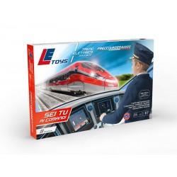 Treno Frecciarossa 1000 con regolatore di velocità