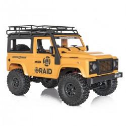 Land Rover Defender Funtek 4WD RTR Truck con luci led 2.4ghz radiocomandato 1/12