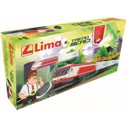 Start set Treno Merci R/C RADIOCOMANDATO  LIMA HL1243 con PISTA